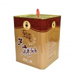 sesame oil tin barrel in large size made in China