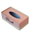 Rectangular Tissue Tin Box, Tissue Tin Can, Tissue Tin OEM Factory