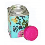 OEM Tea Packing Tin Box, Rose Flower Matel Packing Tin Can, Sugar Gift Storage