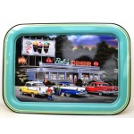 Custom Fast Food Metal Tin Tray
